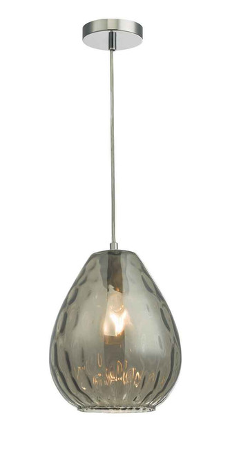 Apulia Smoked Glass Pendant Light