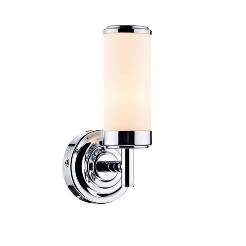 Century Polished Chrome IP44 Single Wall Light