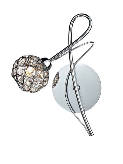 Circa Polished Chrome Single Wall Bracket Light