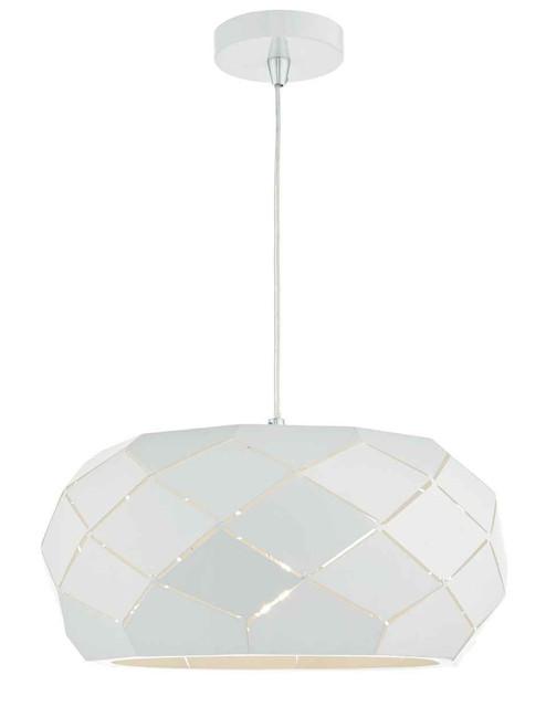 Coby White Metal Pendant Light