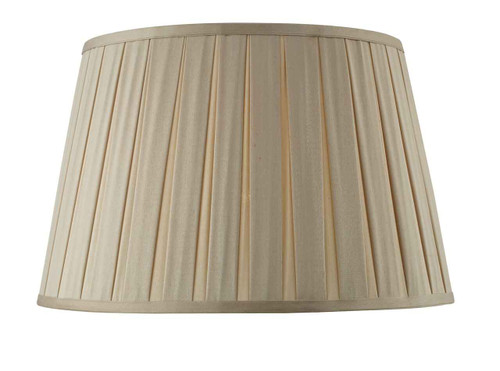 Degas 45cm Faux Silk Tapered Drum Shade Only