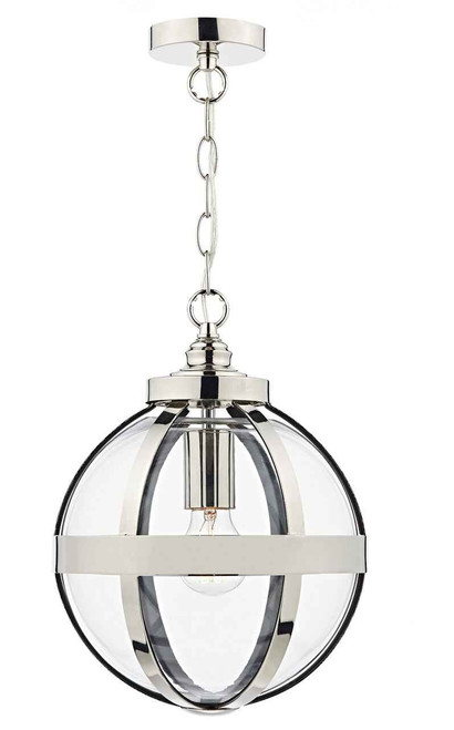 Heath Polished Nickel Pendant Light