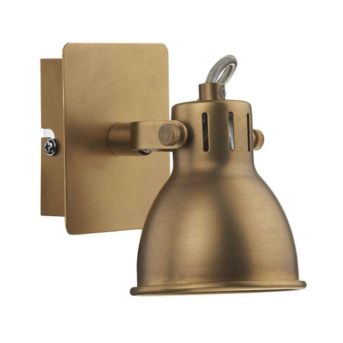 Idaho Natural Brass GU10 Single Wall Bracket