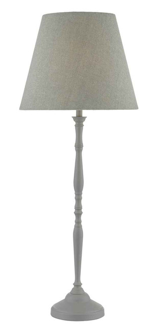 Joanna Grey with Shade Table Lamp