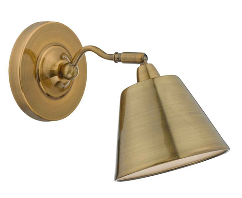 Kempten Antique Brass Wall Light
