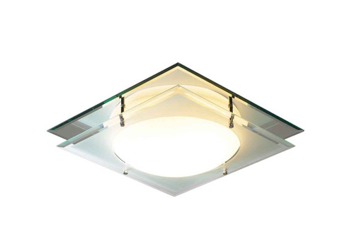 Mantra Mirrored IP44 Flush Ceiling Light