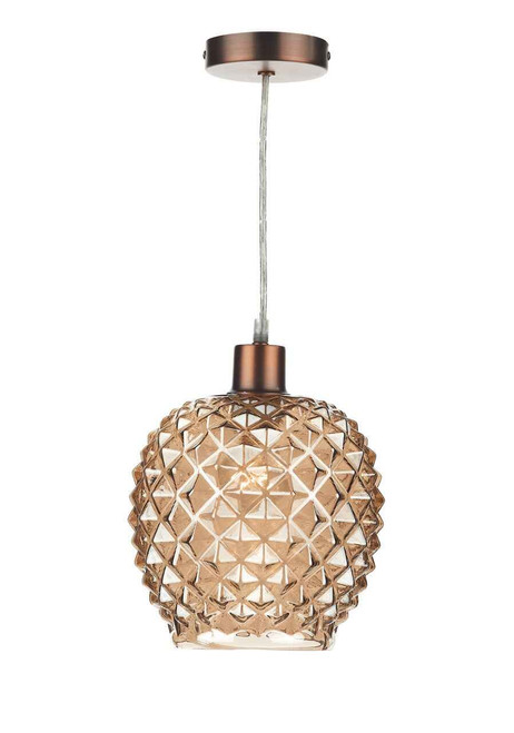 Mosaic Antique Gold Non Electric Easy Fit Shade Only