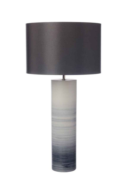 Nazare Black White Ceramic Table Lamp Base Only