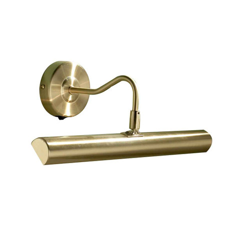 Onedin Satin Brass Picture Light with Switch