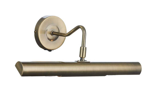 Onedin Antique Brass Picture Light with Switch