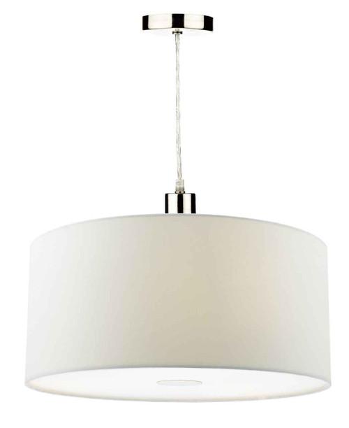 Ronda 40cm Porcelain White Easyfit Pendant Light