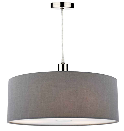 Ronda 60cm Slate Grey Easy Fit Pendant Light