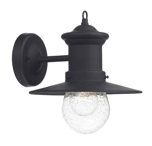 Sedgewick 1 Light Black Down Facing IP44 Outdoor Lantern