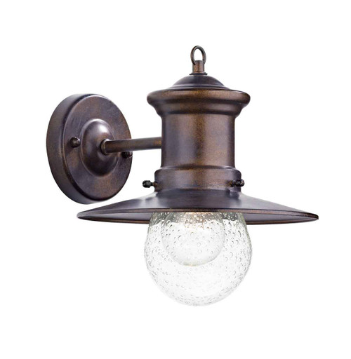 Sedgewick 1 Light Bronze Down Facing IP44 Outdoor Lantern