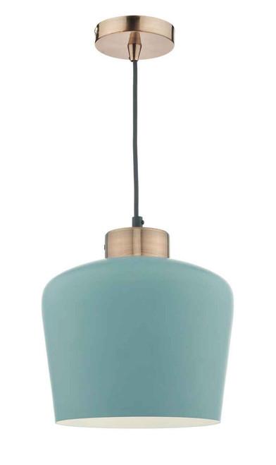 Sullivan Blue Grey Copper Pendant Light