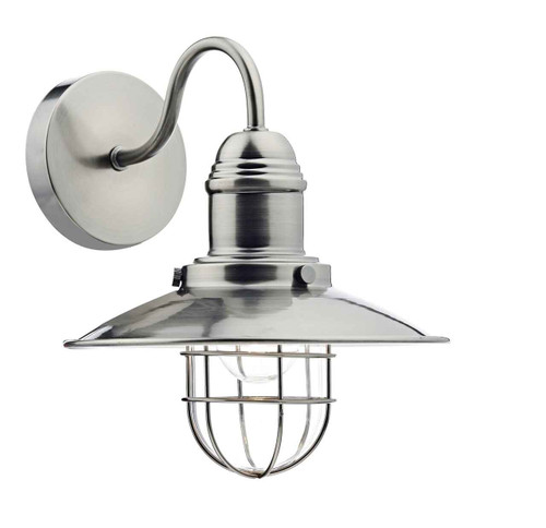 Terrace Antique Chrome Single Wall Light