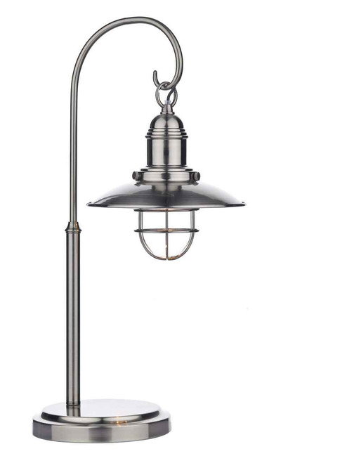 Terrace Antique Chrome Table Lamp