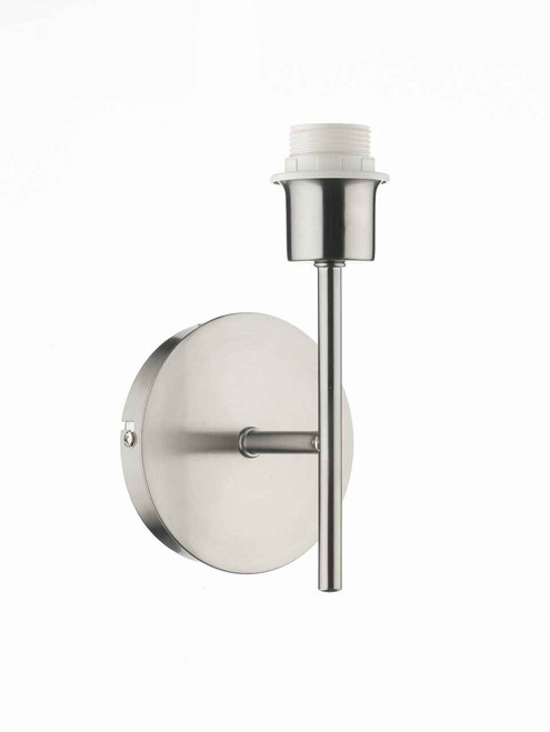 Tuscan Satin Chrome Single Wall Light Base Only