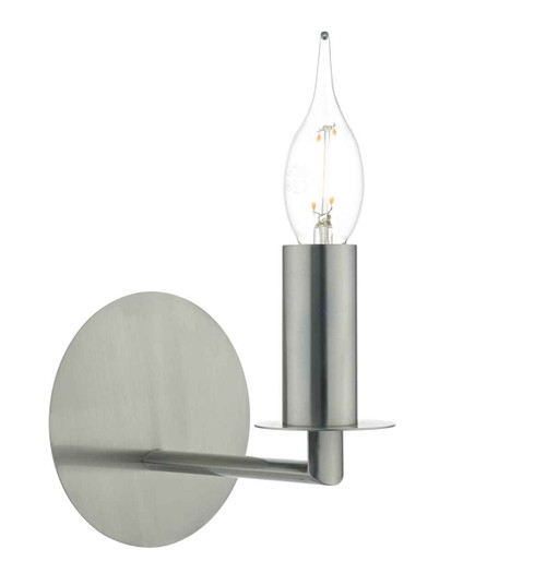 Tyler Satin Nickel Wall Light