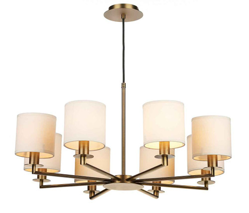 Tyler 8 Light Bronze Dual Mount Pendant Light