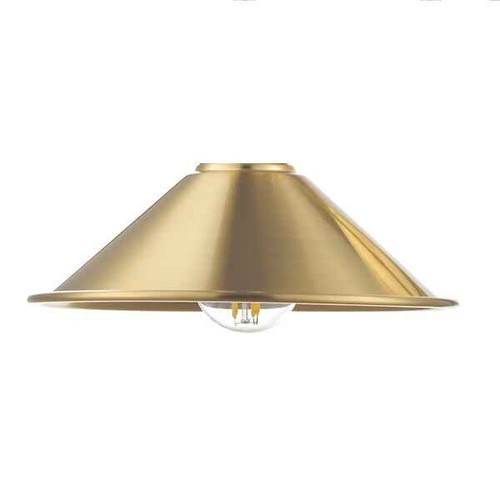Accessory Metal Aged Brass Shade Only