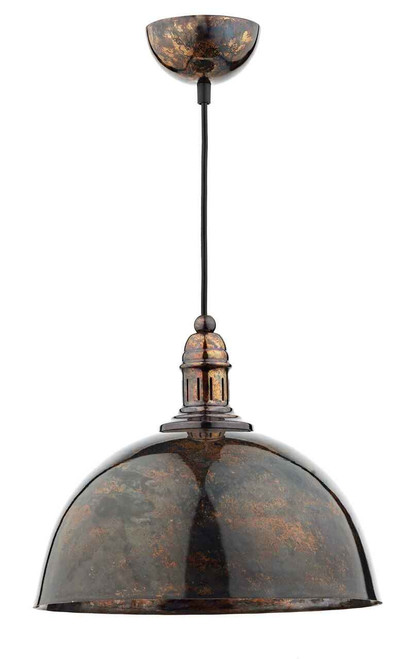 Yoko 1 Light Mottled Bronze Pendant Light