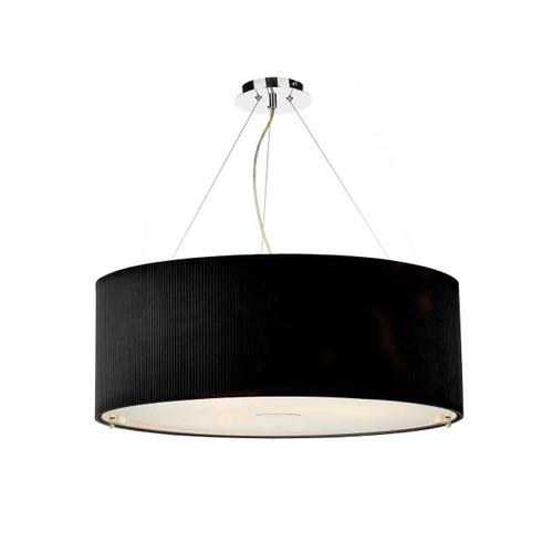 Zaragoza 6 Light Black 90CM Pendant Light