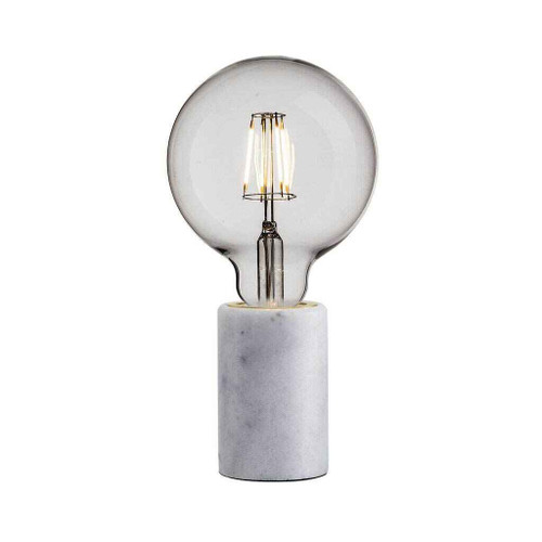 Siv White Marble Table Lamp