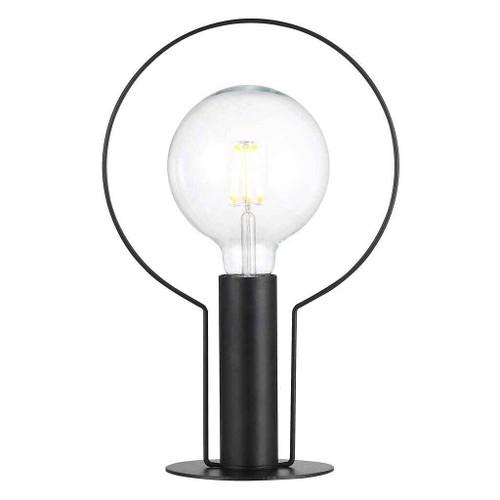 Dean Halo Black Table Lamp