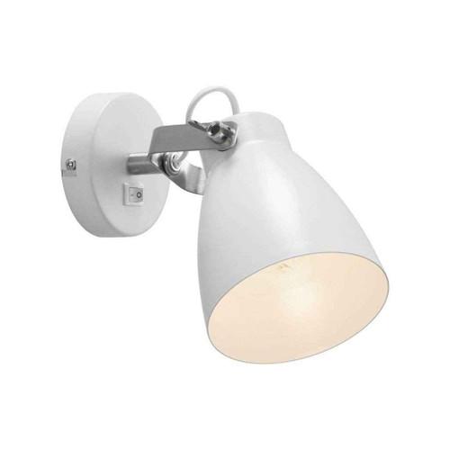Largo White Indoor Adjustable Wall Light