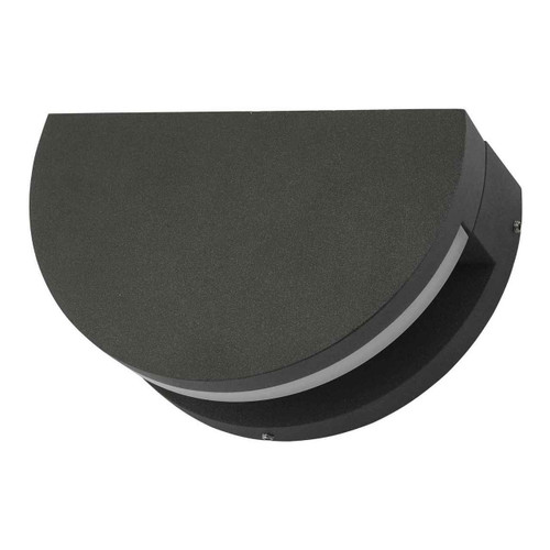 Adyson Adjustable Circle Anthracite IP65 LED Outdoor Wall Light