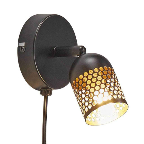 Alfred Black Indoor Wall Light