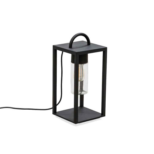 Bologna Black Steel IP44 Floor Lamp
