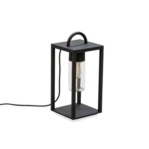 Bologna Black Steel IP44 Floor Lamp