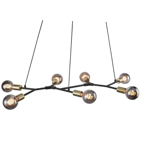 Josefine Black Cluster Pendant Light