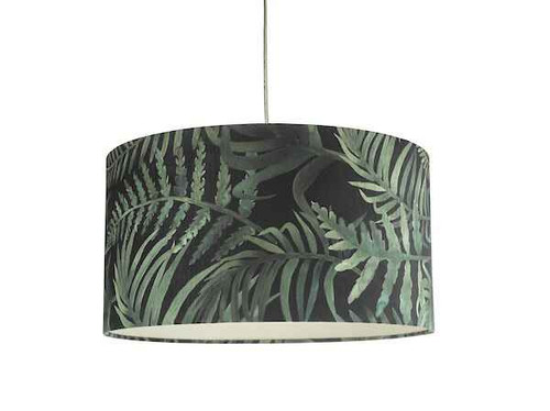 Bamboo Green Leaf Print Small Easy Fit Shade Only