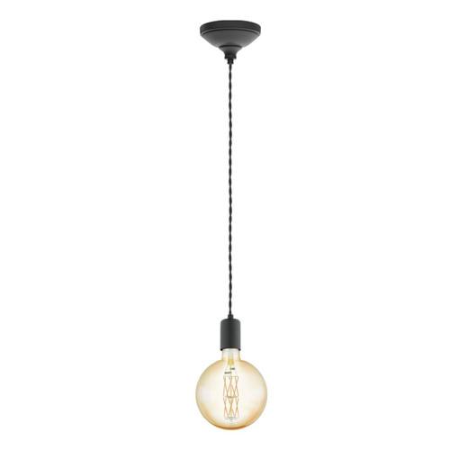 Eglo Lighting Torth Black Single Pendant Light