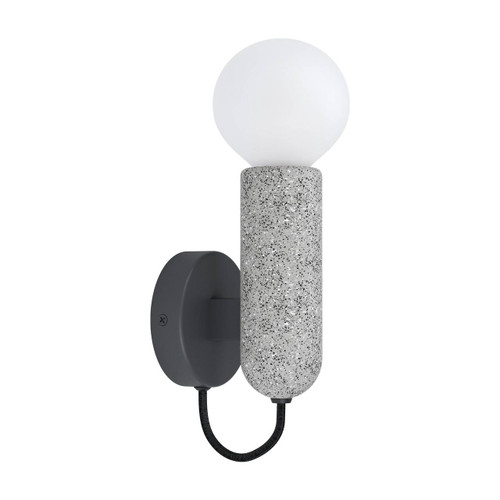 Eglo Lighting Giaconecchia Grey with Anthracite Wall Light