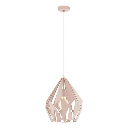 Eglo Lighting Carlton P Apricot Steel Pendant Light