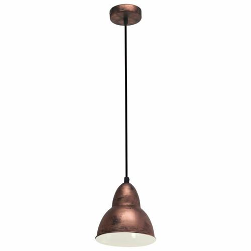 Eglo Lighting Truro Antique Copper Coloured Steel Pendant Light