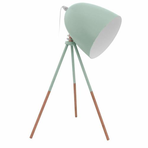 Eglo Lighting Dundee Mint Green Adjustable Table Lamp