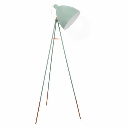 Eglo Lighting Dundee Mint Green Adjustable Floor Lamp