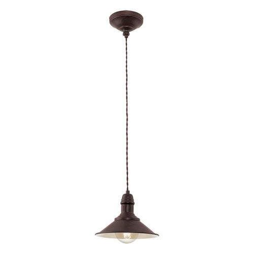 Eglo Lighting Stockbury Antique Finish Small Pendant Light