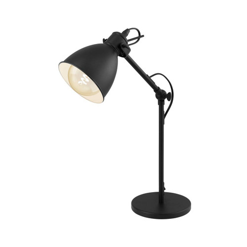 Eglo Lighting Priddy Black and White Table Lamp