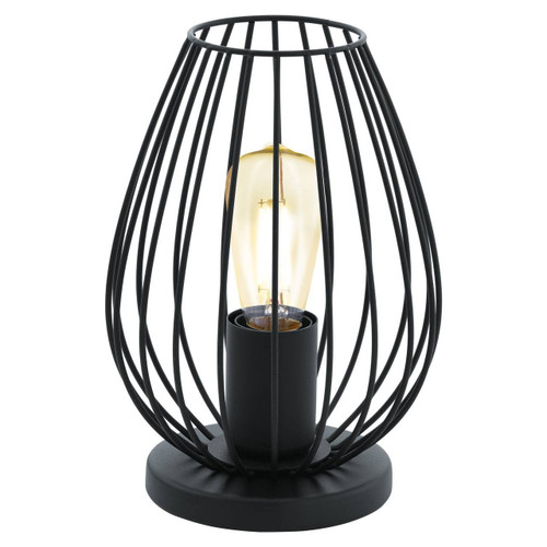 Eglo Lighting Newtown Black Finish Table Lamp