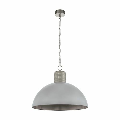 Eglo Lighting Coldridge Grey Aluminium Pendant light