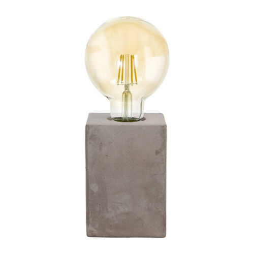 Eglo Lighting Prestwick Grey Ceramic Table Light