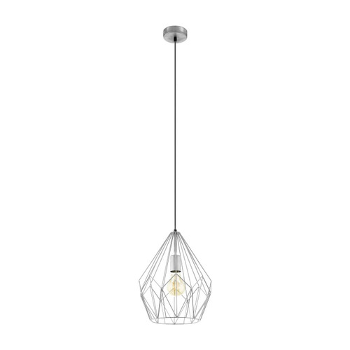 Eglo Lighting Carlton Silver Pendant Light