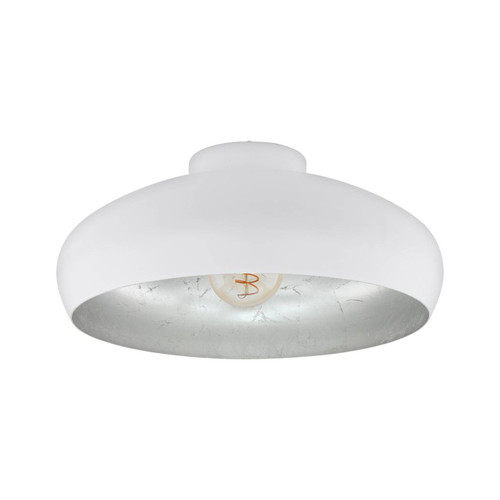 Eglo Lighting Mogano White and Silver Coloured Ceiling Light