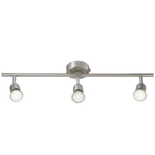 Nordlux Avenue LED 3 Light Brushed Steel Bar Spotlight
